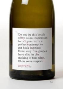 vino etiqueta original packaging