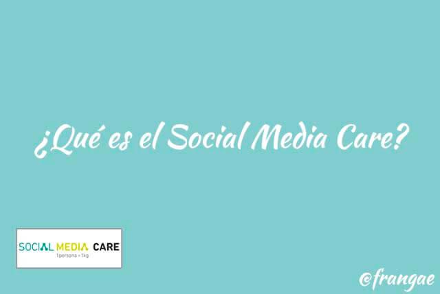 que es el social media care